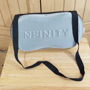 NFINITY Grey Shoe Case W/Carrying S